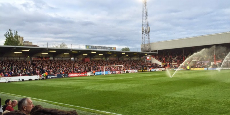 Groundhopping - Brentford