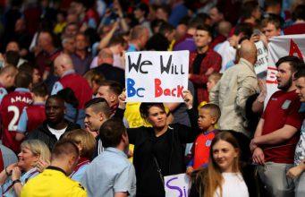 Aston Villa - We'll be back